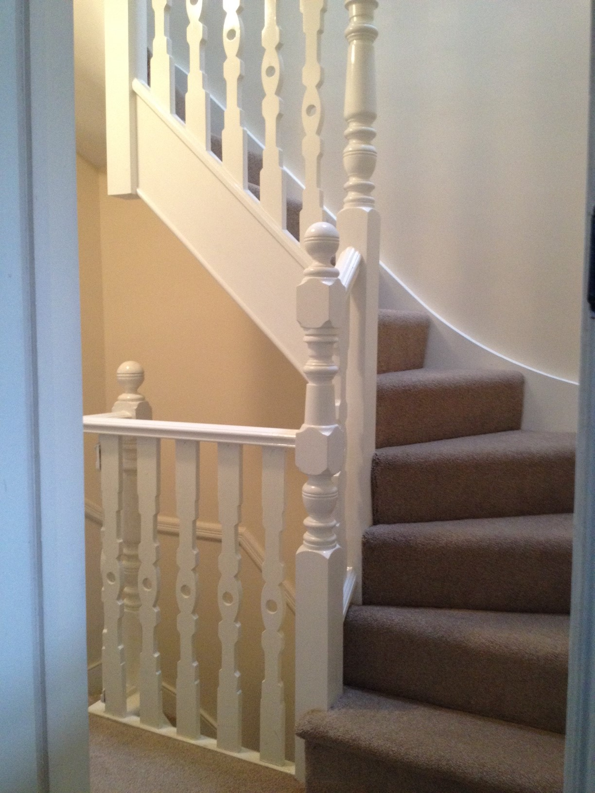 Stair Box In Bedroom: Loft Conversions